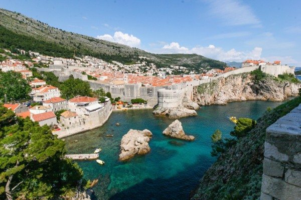 DUBROVNIK - the life in the city surrounded by medieval walls
