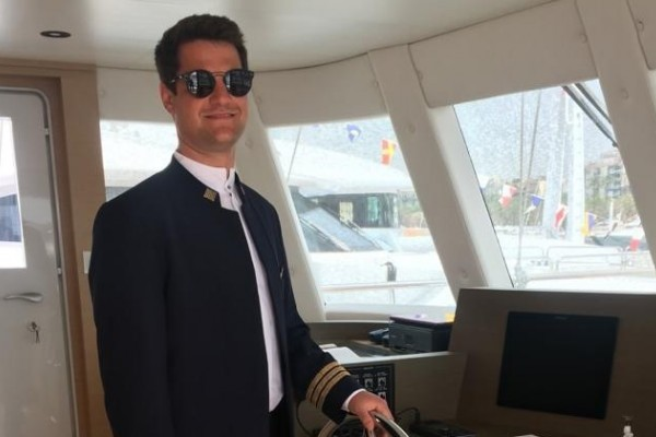 Meet the Captain Series: Ante Ercegovic from luxury motor sailer Navilux