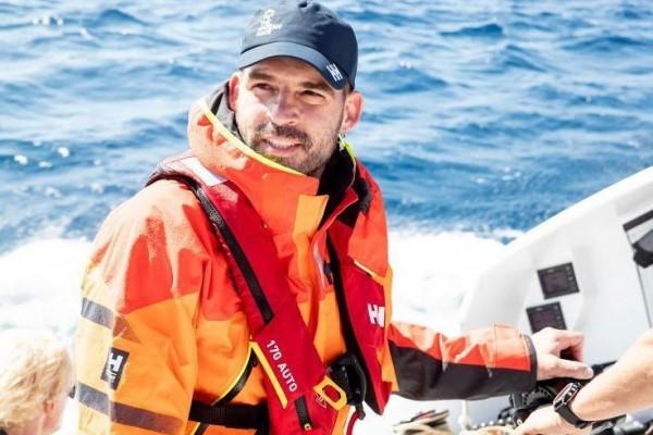 Meet the Captain Series: Niksa Gluncic from sailing superyacht Acapella